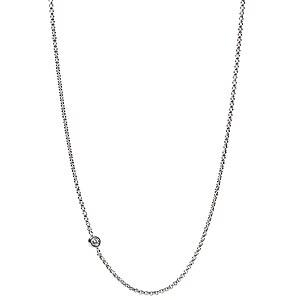 Fossil JF01883 Halskette aus Edelstahl