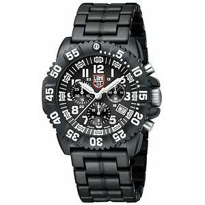 Luminox Uhren 3082 Blackout Chronograph Sea Colormark 3080 Series - 10224