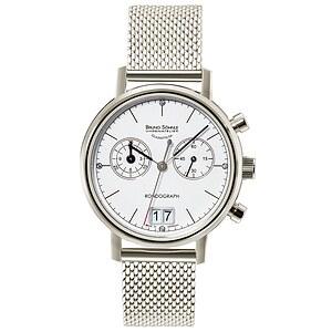 Bruno Söhnle Glashütte Uhren-Serie 17-13172-290 Damenchronograph Rondograph Lady
