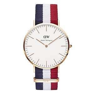 Daniel Wellington Herrenuhr der Serie Classic Rosegold 0103DW Cambridge