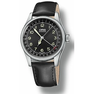 Oris 01 754 7696 4064 07 5 20 51 Herren Uhren Big Crown Original Pointer Date Lederband - 10456
