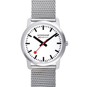 Mondaine Railways Watch Simply Elegant Art. A400.30351.16SBM