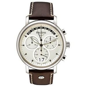 Bruno Söhnle Glashütte Uhren-Serie 17-13143-741 Herrenchronograph Marcato