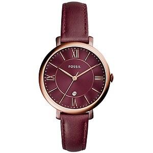 Fossil ES4099 Damen der Uhrenserie Jacqueline