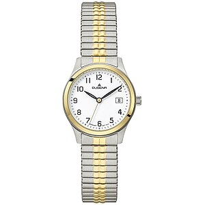 Dugena Bari Zugband aus der Uhrenserie Basic Damenarmbanduhr 4460757 Zugband