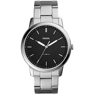 Fossil Herrenuhr THE MINIMALIST Herrenuhr FS5307 in Edelstahl aus der Uhren-Kollektion Mens Casual