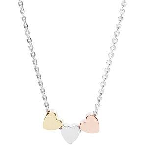 Fossil Damen Halskette - Mothers Day Heart JFS 00400 Damenkette mit Herzen