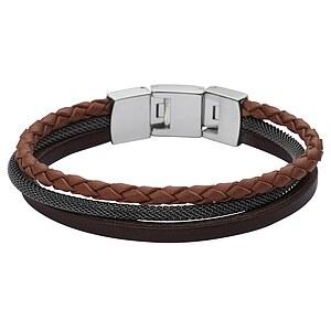 Fossil Herren Armband Multi Strand JF02213 Herrenarmkette