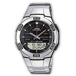 Casio Uhren Funkuhr WVA-105HDE-1AVER