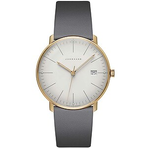 Junghans Uhren-Kollektion 041/7857.00 max bill by Junghans Quarz - 11622