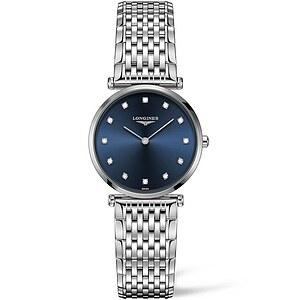 Longines Uhren L4.512.4.97.6 Damen-Armbanduhr La Grande Classique