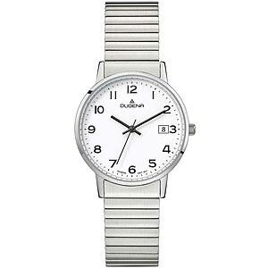 Dugena Moma Comfort Zugband aus der Uhrenserie Basic Herrenarmbanduhr 4460752 Zugband