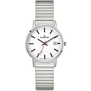 Dugena Moma Comfort Zugband aus der Uhrenserie Basic Herrenarmbanduhr 4460750 Zugband