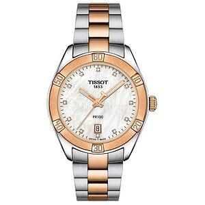 Tissot T101.910.22.116.00 Damenuhr T-Classic der Uhren-Serie PR 100