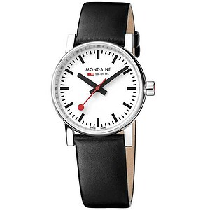 Mondaine Official Swiss Railways EVO2 MSE.30110.LB Bahnhofsuhr Evo Automatic Gents 30 mm poliert - 11975