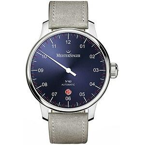 Meistersinger DM908 der Uhren-Serie N°03 - 40 mm Automatik - Die Einzeigeruhr