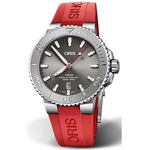 Oris Aquis Date 733 7730 4153 RB rot aus der Oris Uhren Serie Aquis