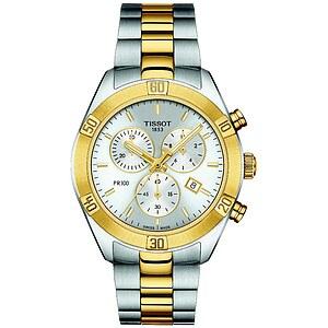 Tissot PR100 Chronograph T101.917.22.031.00 Unisexuhr T-Classic der Uhren-Serie PR 100