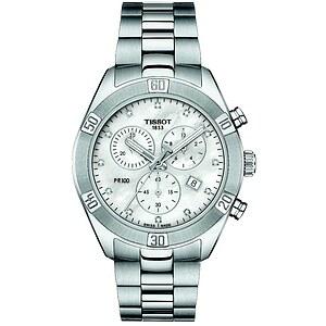 Tissot PR100 Chronograph T101.917.11.116.00 Unisexuhr T-Classic der Uhren-Serie PR 100