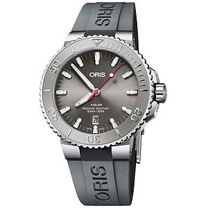 Oris Aquis Date 733 7730 4153 RB grau aus der Oris Uhren Serie Aquis