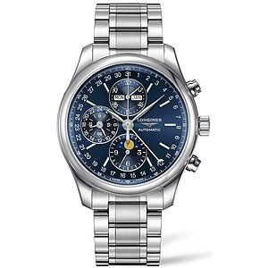 Longines Uhren L2.773.4.92.6 Automatik-Chronograph Mondphase Master Collection - 12308