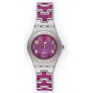 Swatch Irony Medium YLS 4015AG Don´t Cross The Lines