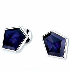 JOOP! JJ 0999 lila Women Jewellery Silber-Ohrstecker Gina Kristall