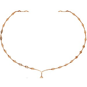 Glamour World GMN-RS Jewels Collier Glamour Mesh 1-reihig goldplattiert - 21777