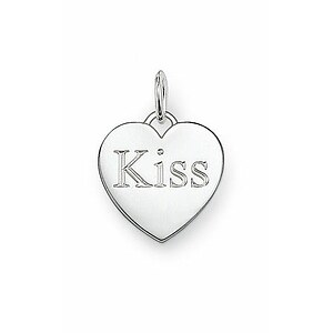 Thomas Sabo PE437-001-12 GLAM & Soul Special Addition Silber Ösen-Anhänger Kiss - 21927
