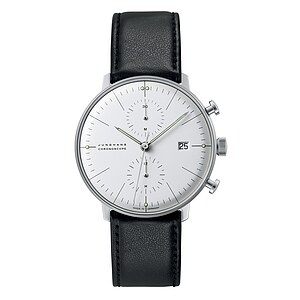 Junghans Uhren-Kollektion 027/4600.04 max bill Chronoscope - 22165