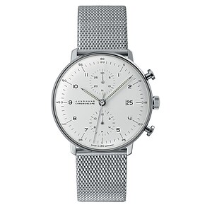 Junghans Uhren-Kollektion 027/4003.48 max bill Chronoscope - 22168