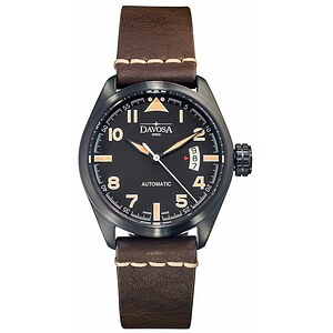 Davosa Herrenuhr Military 161.511.84 black