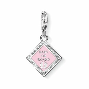 Thomas Sabo CC 1117-041-9 Anhänger Charm Club BABY ON BOARD kristallverziert - 23662