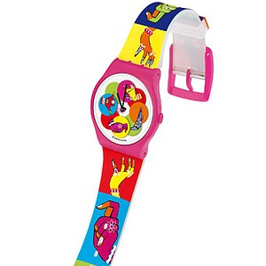 Swatch Uhr SUPP 101 Manish Arora Jelly in Jelly Dancing Hands - 24984