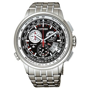 Citizen Uhren BY0011-50E Eco-Drive Funk-Chronograph - 25946
