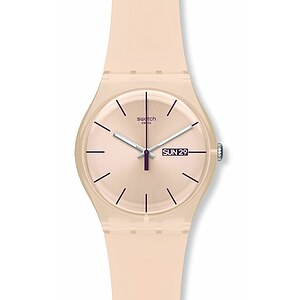 Swatch Uhr SUOT 700 New Gent Coloured Collection Rose Rebel - 26386