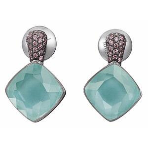 JOOP! JPER90256A000 Jewellery Silber Ohrringe Amazonit Kirsten pavée