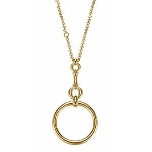 JOOP! JPNL90619B450 Jewellery Necklace Silber Halskette Sofia goldplattiert