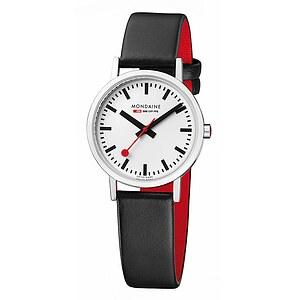 Armband-Uhr von Mondaine A658.30323.11SBB_rot