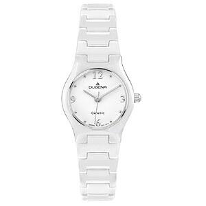 Dugena Uhren 4460508 Lady Keramik white