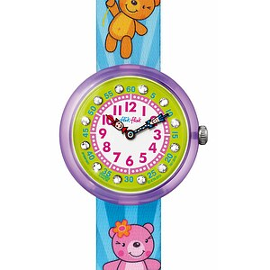 Flik Flak Uhren FBNP005 Girl Kinderuhr Cute-Size (3+) Sweet Bears - 26805