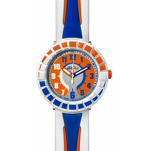 Flik Flak Uhren FCSP009 Kinderuhr Full-Size Boy (7+) All Around Blue & Orange - 26837