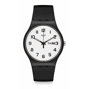 Swatch Uhr SUOB705 CLASSIC New Gent Twice Again - 26850