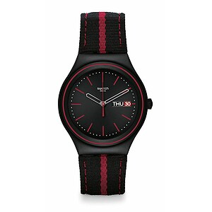 Swatch Uhr YGB7000 CLASSIC Irony Big The Prince of Red Stripe - 26867
