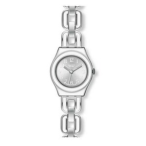 Swatch Uhr YSS 254 G Lifestyle Swing Irony Lady White Chain - 27196