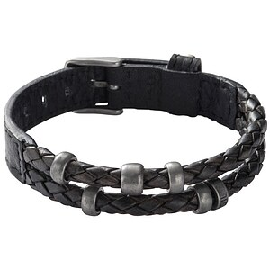 Fossil Herren Armband - Retro Pilot Bracelet JF85460 Herren Armkette Leder