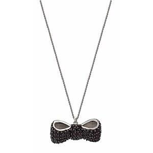 JOOP! JPNL90500B420 Jewellery Silber-Collier Bow Paladin  weiß-pavée