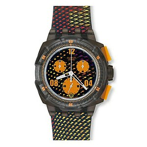 Swatch SUKM 400 Beach Volley World Tour 10 Chronograph Plastic Snowpass Sand Diver - 28738