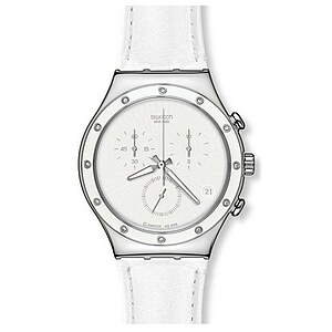 Swatch Uhr YCS535 Lifestyle Swing Irony Chrono White Sun - 28778