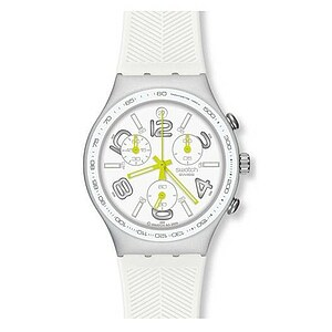 Swatch Uhr YCS4051 Lifestyle Sport Irony Chrono Ray of Light White - 28786